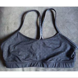 Flow Y Bra Luxtreme Black Pattern Size 10